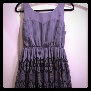 Purple Lauren Conrad sweetheart tank dress LC